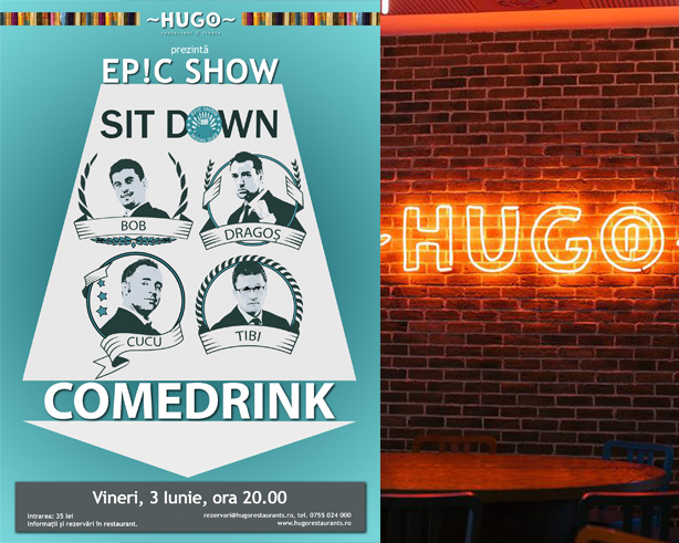 Sit Down Comedrink #4 – Ep!c Show