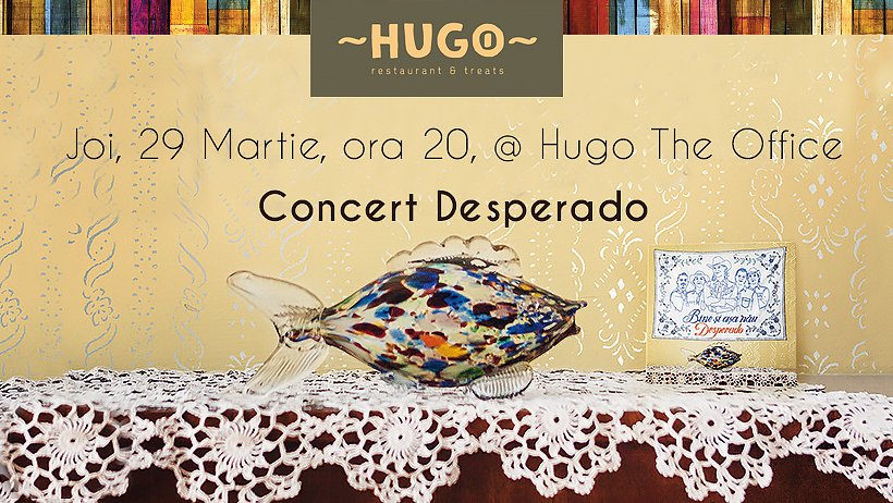 concert DESPERADO @ Hugo Restaurants