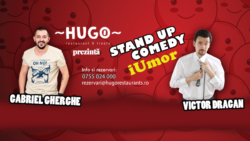 Stand-up comedy cu Gabriel Gherghe și Victor Dragan