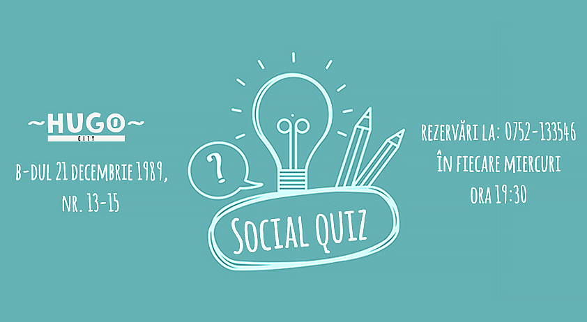 Social Quiz Night @ Hugo City