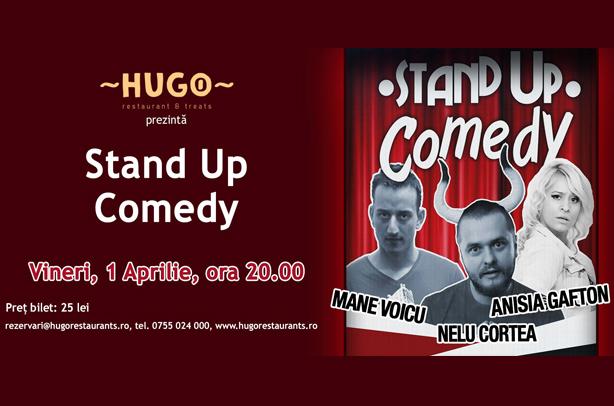 Stand-up Comedy cu Nelu Cortea, Mane Voicu și Anisia