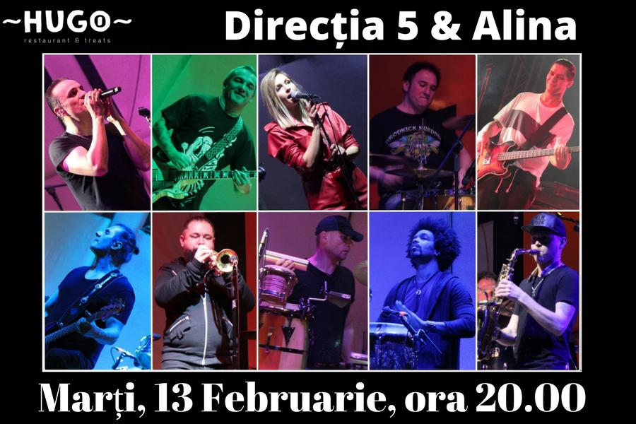 Concert Direcția 5 & Alina