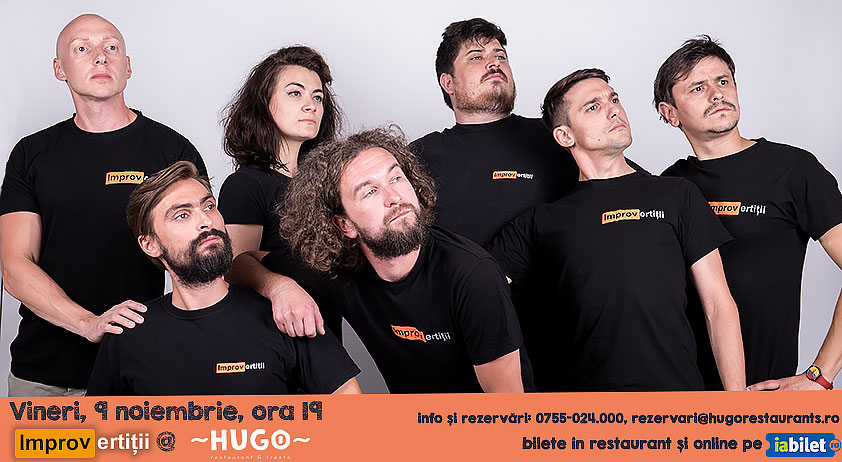 IMPROshow cu IMPROvertiții @ Hugo The Office