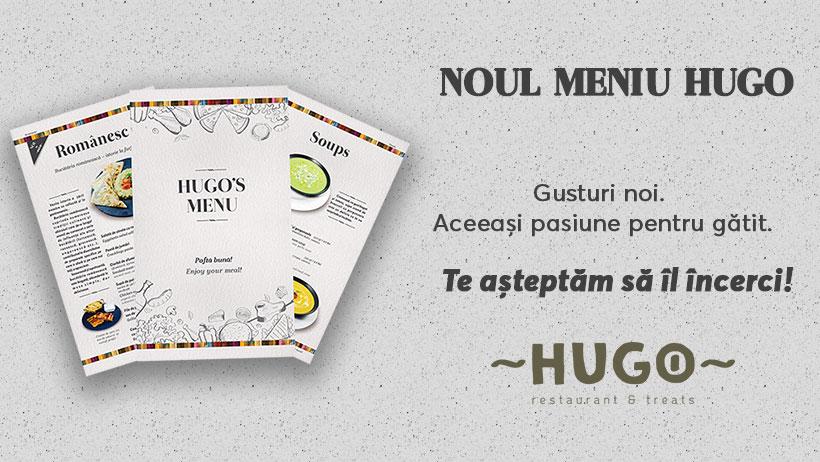 Meniu nou la Hugo The Office – Încearcă-l și tu!