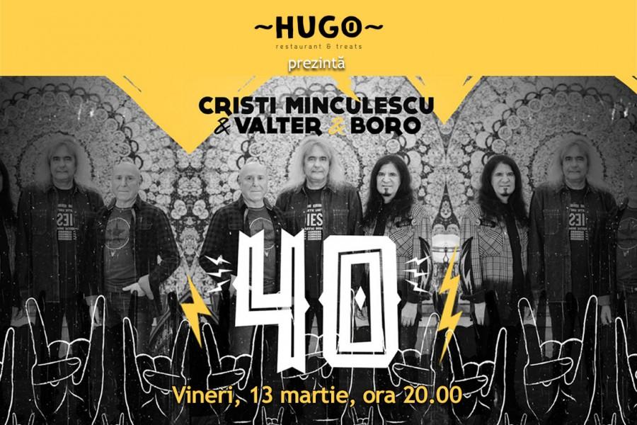 Iris la Hugo! Cristi Minculescu, Valter& Boro – Turneu INDOOR 40